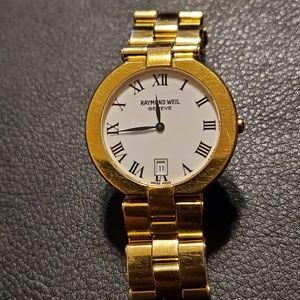 Gold Watch Raymond Weil